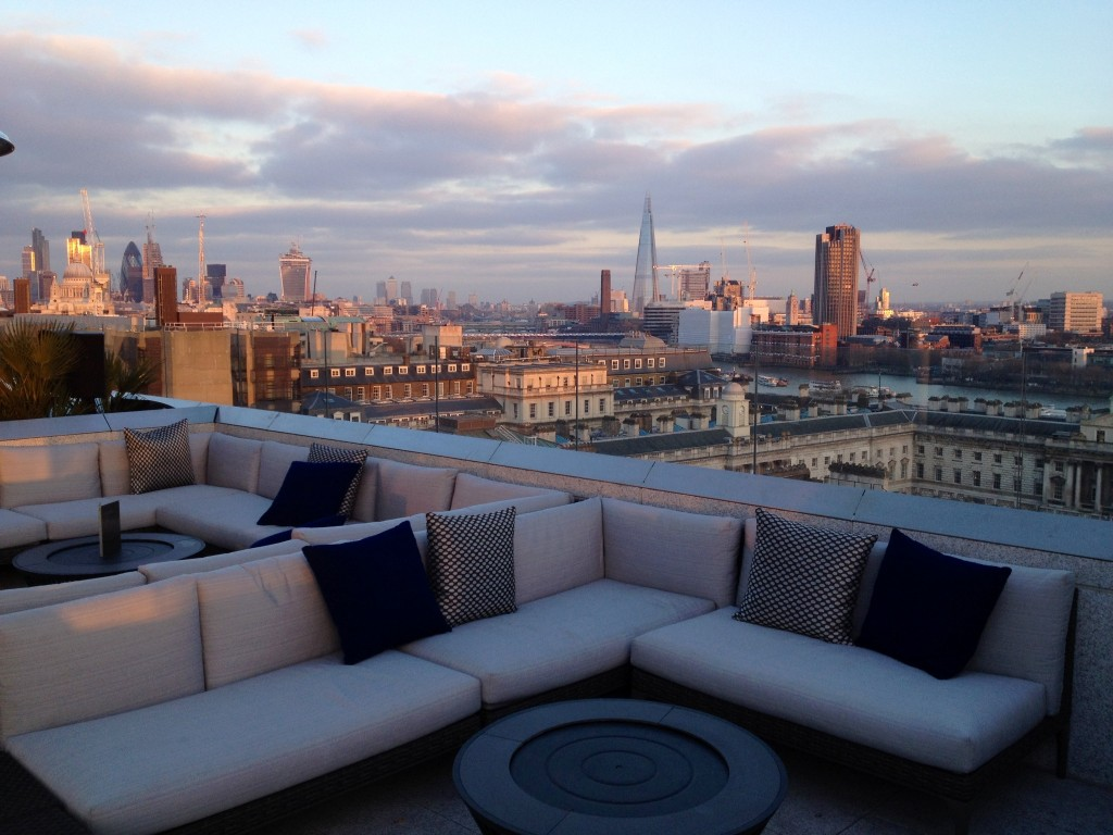 ME London's Marconi Lounge and Radio Rooftop, The Strand ...