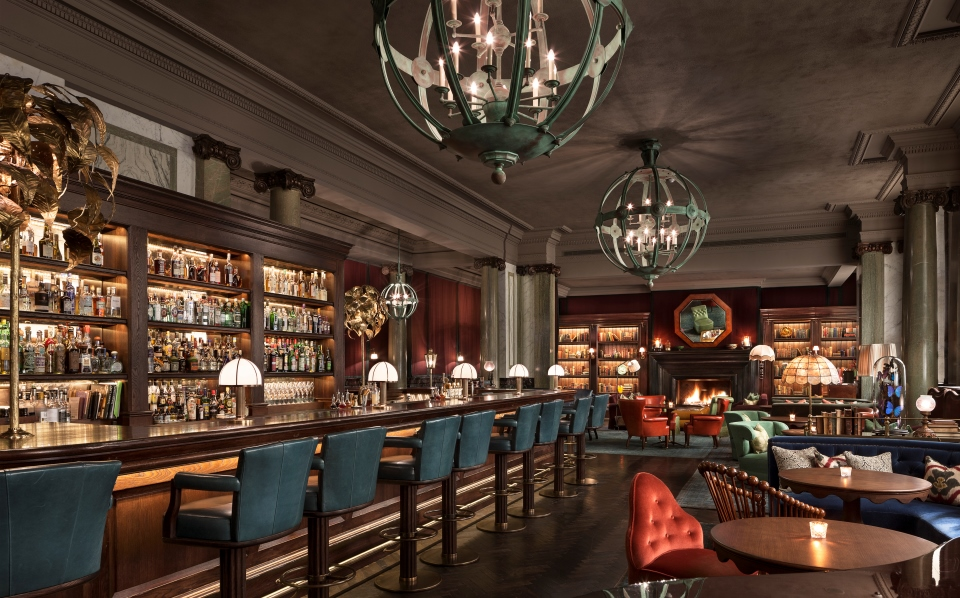 Scarfes bar high holborn highball hoodoo for Dining room zetter townhouse