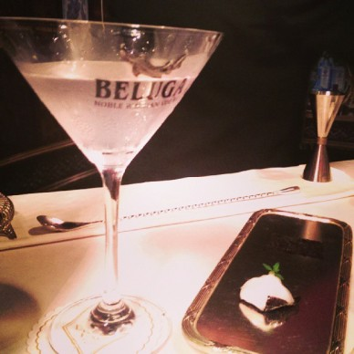 "Rivoli Bar's ""Caviar Martini"""