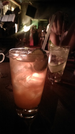 L-R: Cecil's Rum Swizzle; Cecil's Club Vodka Highball