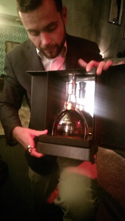 Brand Ambassador Julien Lafond with Grand Marnier Quintessence