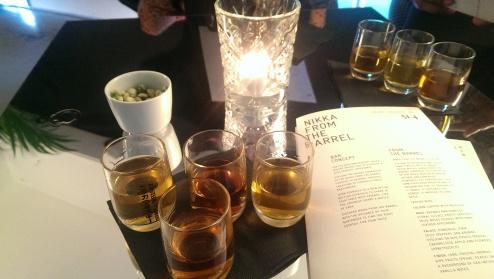 The Nikka '51.4' Bar's Cocktail Flight