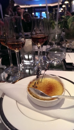 Courvoisier & Creme Brulee Pairing