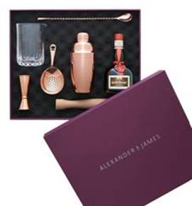 A&J Japanese Cocktail Set Christmas Gift Pack