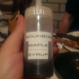 Bourbon Maple Syrup