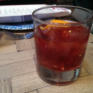 whisky negroni