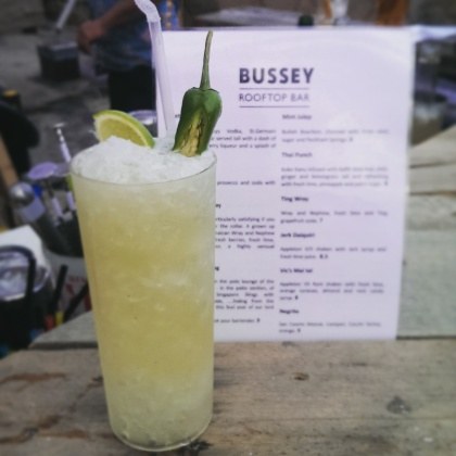 Bussey Rooftop Bar Cocktails Summer