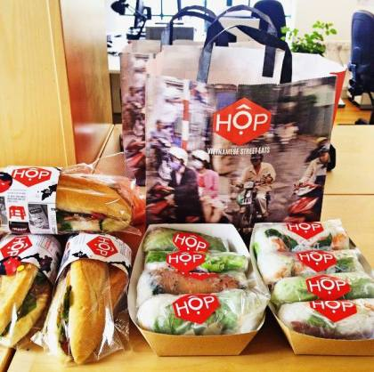 Hop Vietnamese London Broadgate Food