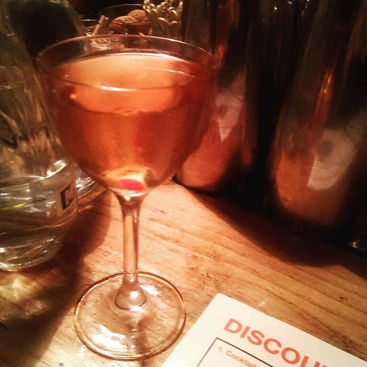 Discount Suit Company London cocktails Aldgate