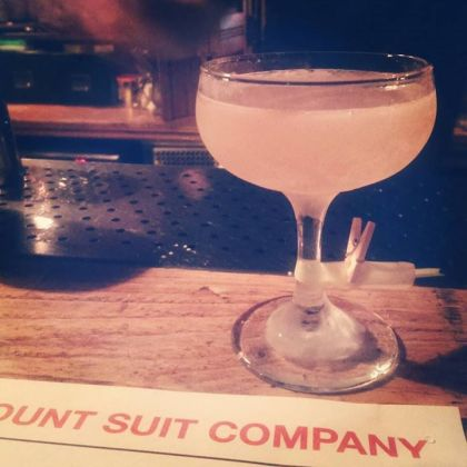Discount Suit Company London cocktails Aldgate