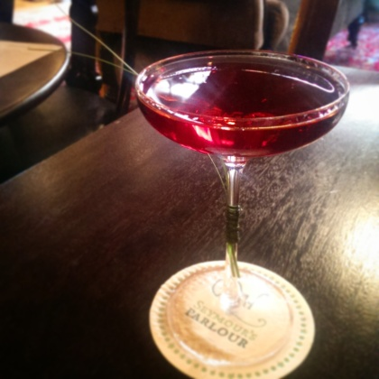 Seymour's Parlour Zetter Townhouse Marylebone London Cocktail