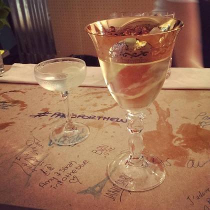 Bombay Sapphire Paris 24 Hour Bar Build London Cocktail Week