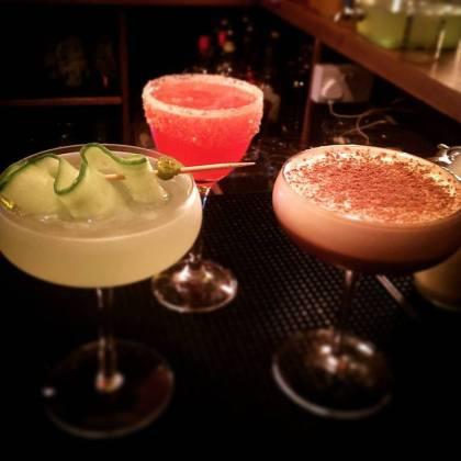 WM Barker Dirty Dicks Bishopsgate City Cocktail bar Vodka Gin