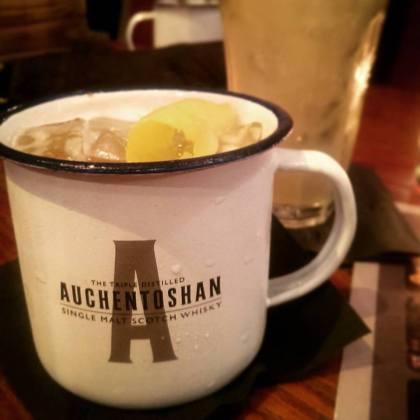London Cocktail Week Whisky Scotch Auchentoshan