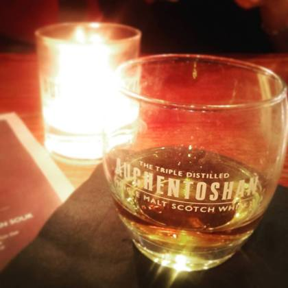 London Cocktail Week Whisky Scotch Auchentoshan