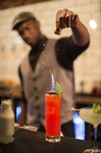 WM Barker Dirty Dicks Bishopsgate City Cocktail bar