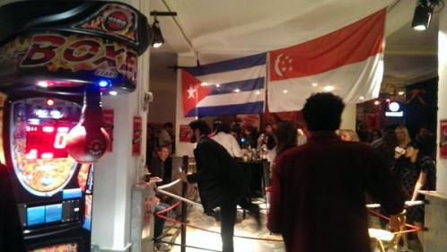 Singapore 24 Hour Bar Build London Cocktail Week