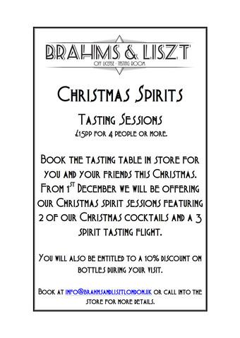 Brahms Liszt Cocktail London