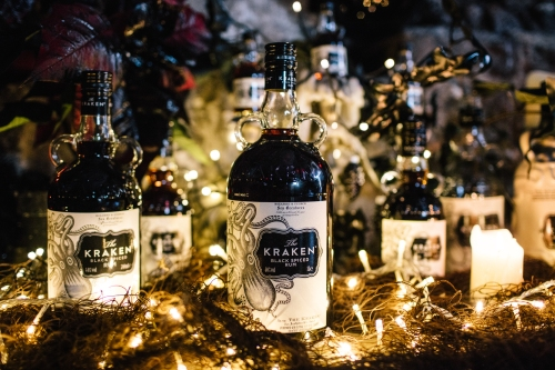 Think Ink Pines Black Kraken Rum Hackney Christmas Cocktails