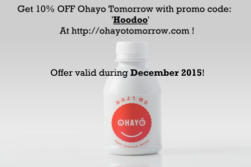 Ohayo Tomorrow Hangover Cure Discount Promo code