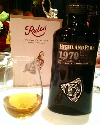 Highland Park Rules London Burns Night