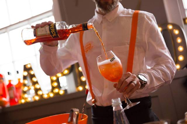 Aperol Spritz Terrazza Summer Cocktails Bird of Smithfield Clerkenwell London