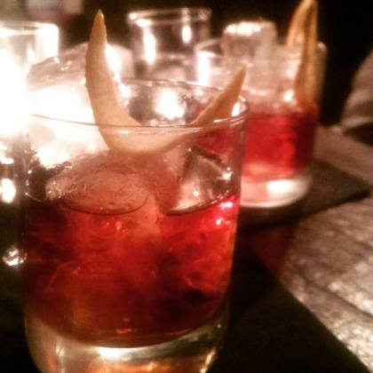 Red Gallery RediscoverRed Campari Negroni Bar portside parlour