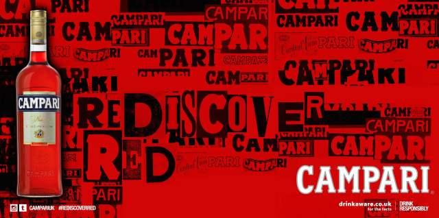 Red Gallery RediscoverRed Campari Negroni Bar