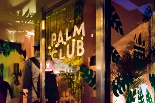 Palm Club Dalston Pop Up Cocktail Bar London
