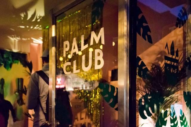 Palm Club Dalston Pop Up Cocktail Bar London