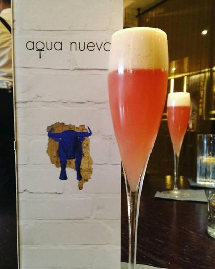 Aqua Kyoto Nueva London cocktails
